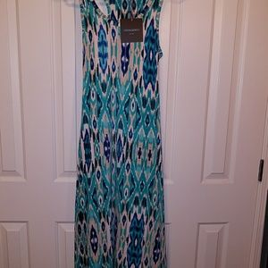 Cynthia Rowley maxi dress racerback new with tags